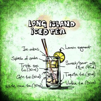 Long Island Ice Tea Liquid