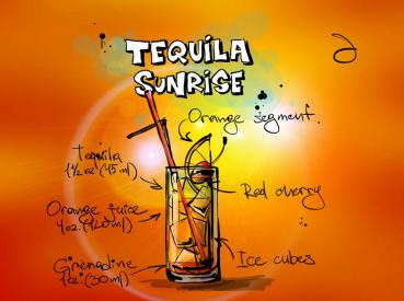 Tequila Sunrise Liquid